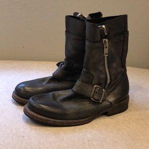 Steven Madden Men's leather boots